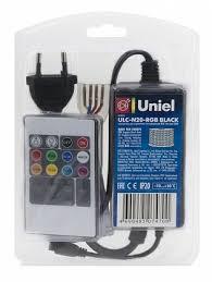 <b>Контроллер</b> для светодиодных <b>RGB</b> лент (10800) <b>Uniel ULC</b>-<b>N20</b> ...