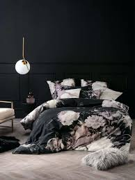 duvet covers and quilts linen house black duvet cover fl printed flower print country duvet covers