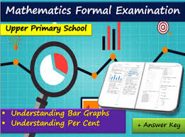 Formal Maths Exam For Upper Primary Understanding Bar Charts And Per Cent