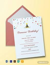 Free Party Invitation Template 2 Free Birthday Invitation