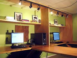 home office track lighting artistic home office track