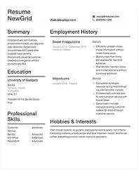 Resume BuilderCom New Free Resume Builder Com Sections 60 Ifest