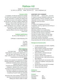 curriculum vitae free template sample of cv and resume