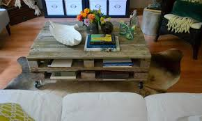 the poor sophisticate pallet coffee table tutorial