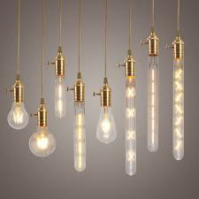 retro lighting. dimmable e27 led edison cob bulbs retro classic filament globe christmas lighting ac220v