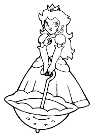 Starting from snow white (though persephone was first to try) up to anna and elsa (frozen), be it official like belle, cinderella, or unofficial like vanellope and tinkerbell, all disney princesses are always sweet and cute. Princess Peach Coloring Pages Books 100 Free And Printable