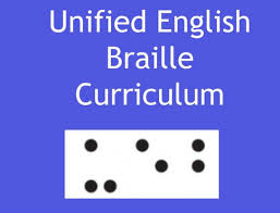 Ebae Braille Chart Ueb Curriculum For Braille Students Ueb Visually