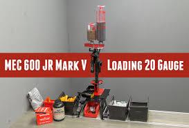 Mec Jr Bushing Chart Mec 600 Jr Mark V Loading 20 Gauge Shells Ultimate Reloader