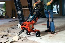 Tile Removal Tool Machine The Rip R Stripper Acts As A Carrier For