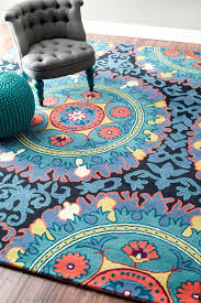 awesome hand tufted suzanne modella wool rugs and nuloom rugs plus leather chair