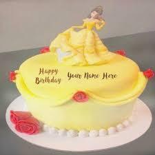Write Girl Name On Fairy Birthday Cake Freshbirthdaycakegq