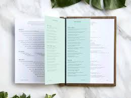 Restaurant Menu Layout Ideas 50 Restaurant Menu Designs That Look Better Than Food Creative