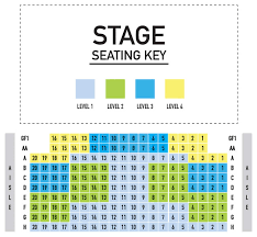 Hanesbrands Theatre Seating Chart