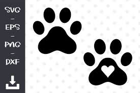 Some paw prints svg may be available for free. Dog Paws Print Graphic By Wanchana365 Creative Fabrica