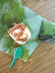 the stall s nasi lemak bilis telur is by far the favourite for most patrons
