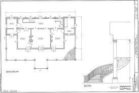 Floor Plans Evergreen Plantation  Wallace  St John the Baptist    Evergreen Plantation  Wallace  St John the Baptist Parish  Louisiana Main House Second Floor