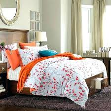 trendy duvet covers black and white duvet cover king contemporary duvet covers and sets orange white