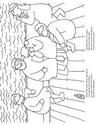 Kleurplaten Paradijs Kleurboek Jezus Stilt De Storm De Storm Op