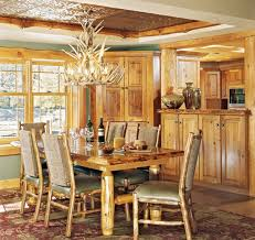 home lighting guide. Chandelier In A Log Home Dining Room Lighting Guide