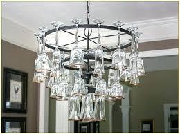 wine glass chandelier frame wine glass chandelier pottery barn chandeliers on
