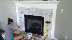marble tile fireplace subway white tile fireplace marble tile fireplace surround