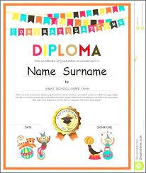Prek Diploma Preschool Certificate Template Condo Financials Com