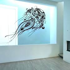sea life wall decals sea wall decal jellyfish extra large ocean life vinyl wall decal sea turtle wall decals sea wall decal realistic sea life wall decals