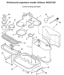 gaggia baby la pavoni espresso machines and parts parts diagram