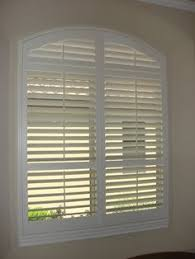 Plantation Shutters For Arched Windows In San Antonio TX  Window Semi Circle Window Blinds