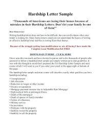 mortgage modification hardship letter loan modification letter of hardship template guide for