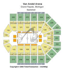 Van Andel Arena Seating Chart Wrestling Cheap Van Andel Arena Tickets