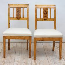art deco furniture miami. Pair Of Art Deco Chairs In Birch With Upholstered Seat Furniture Miami