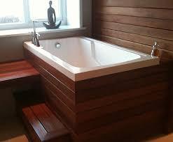 nirvana japanese style deep soaking tub