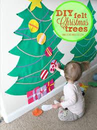 <b>DIY Felt Christmas</b> Trees - Life With My Littles
