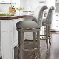 kitchen bar stools with arms. the graceful silhouette and curved back of our ellison barstool imbue a room with elegance. kitchen bar stools arms n