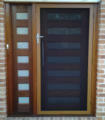 modern security screen doors. Hinged Screen Modern Security Doors M