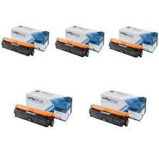 Compatible 5 Colour Hp 307a Toner Cartridge Multipack 2 X Ce740a Ce741a Ce742a Ce743a