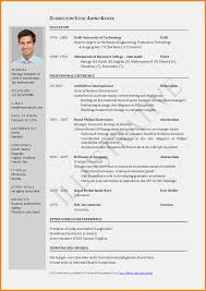 Cv Writing Format Download Macopalmexco