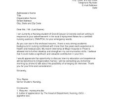 Cover Letter New Grad Nursing Graduate Nurse Practitioner Samples