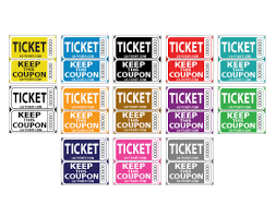 custom roll tickets double raffle tickets delli beriberi co