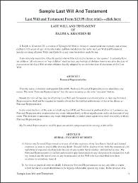 Print Divorce Papers Extraordinary Free Template For Will Blank Wills Printable Online Sample Last And