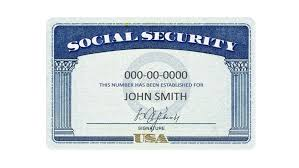 social security numbers formulated