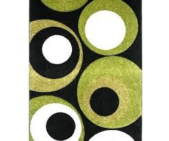 black rug keywords then lime green plus area 4x6