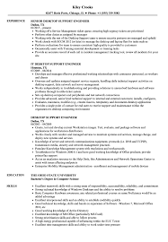 Desktop Support Engineer Resume Samples Velvet Jobs