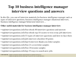 business intelligence analyst interview questions top 10 business intelligence manager interview questions and answers 1 638 jpg cb 1428980036
