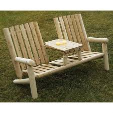 solid wood bench seat old wood outdoor