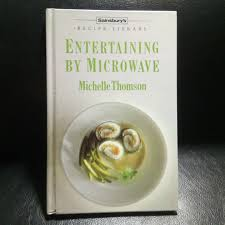 Sainsburys Book Chart Book Entertaining By Microwave Sainsburys Recipe Library