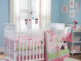 disney baby minnie mouse flower piece crib set design panel bedroom incredible 4 1600