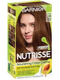 Garnier Color Naturals Shades Chart Medium Golden Brown 53 Chestnut