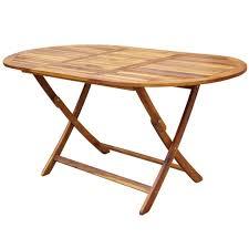 vidaXL <b>Solid Acacia</b> Wood Outdoor Dining Set <b>9 Piece</b> Folding ...